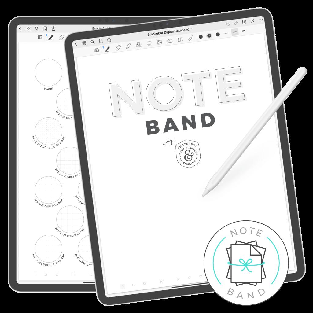 Brookebot Digital NoteBand Note Book Binder Beast