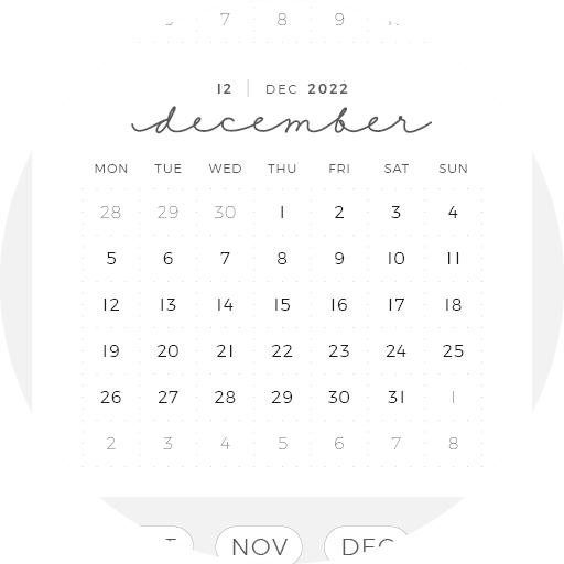 Digital Planner January December Year Month Week Day 15