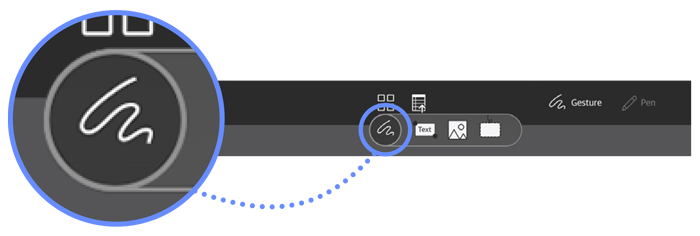 Flexcil Toolbar