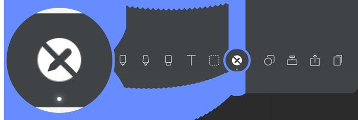 Noteshelf Toolbar