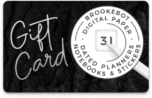 Brookebot Digital Gift Card All Purpose Dark Moondust