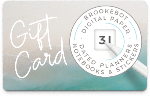 Brookebot Digital Gift Card All Purpose Sandy Shore